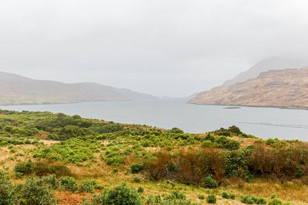 connemara: Photo of a beautiful landscape in Connemara Ireland Stock Photo