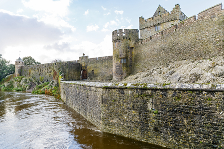 county tipperary: Landscape photo of Cahir castle in Ireland