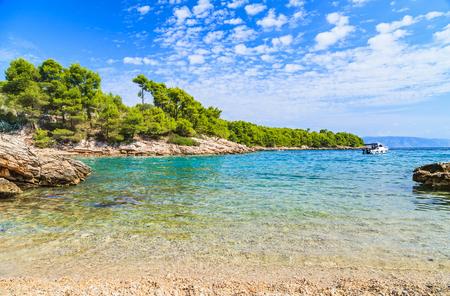 adriatic: Landscape photo of beautiful adriatic rocky coastline