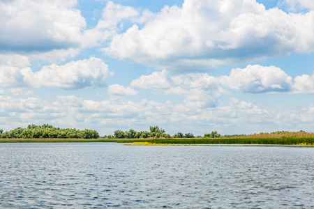 Landscape photo of Danube Delta in Romania
