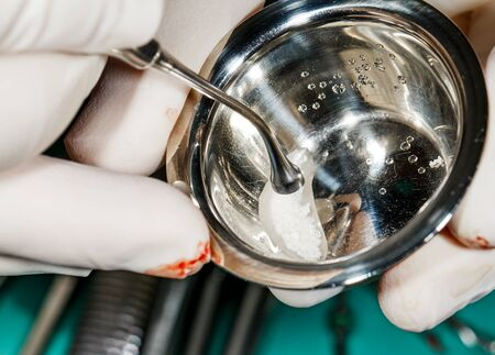 artificial bone for dental implant