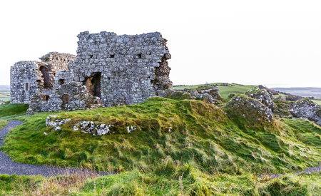 Photo of Dunamase castle ruins in Ireland