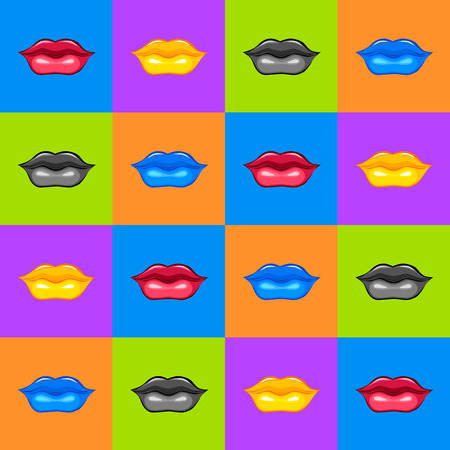 Lips textuur Lips illustratie