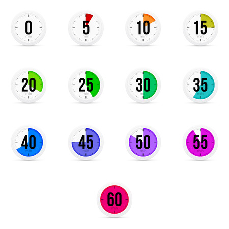 sec: Set of simple timers. Set of thirteen elements.