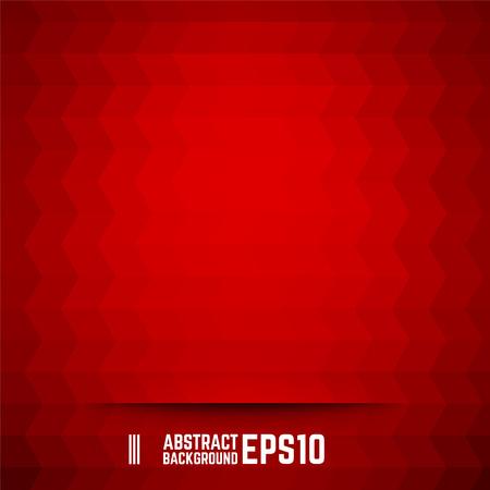 赤の抽象的な菱形の背景。ベクトルの図。  イラスト・ベクター素材