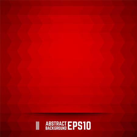 Red abstract rhombus background. Vector illustration.