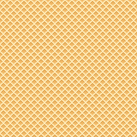 Endless Wafer Pattern. Waffels. Endless texture.