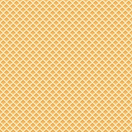 Endless Wafer Pattern. Waffels. Endless texture.