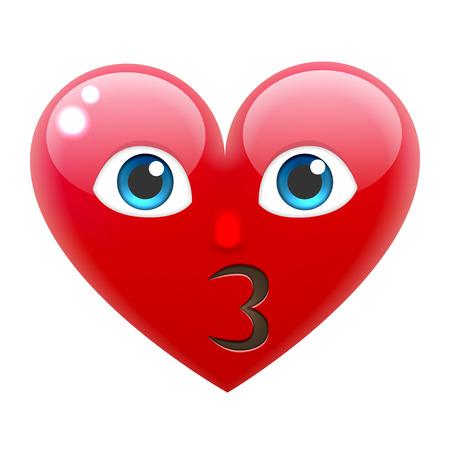 Resultado de imagen para emojis valentin beso