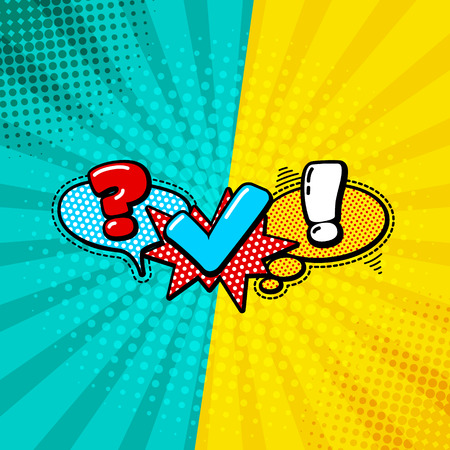 team communication: Vector Quiz Isolated Logo. Questionnaire Icon Sign. Poll Signs. Bubble Speech Expression Cartoons. Social Communication, Chatting, Interview, Voting, Discussion, Talk, Team Dialog, Group Chat Symbols