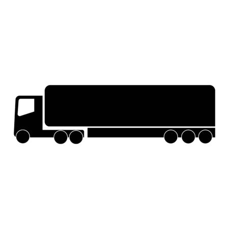 truck Icon Vector Wagon illustration