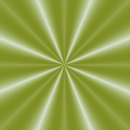 pleat: Digital abstract fractal image with a pleated green silk design