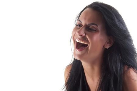 true laughing girl photo