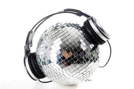 shiny disco ball photo