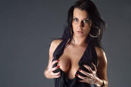 gorgeous girl with sexy boobs Stock Photo - 7395754