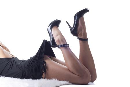 piernas sexys: Piernas hermosas sexys Foto de archivo