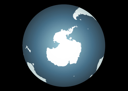 Antarctica (Vector). Accurate map of antarctica. Includes the southern tips of South America, Australia, and Africa