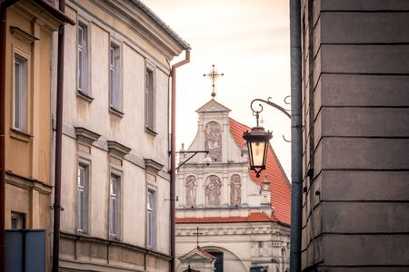 Old town in Lublin, Poland