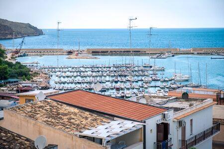 Castellamare del Golfo, SICILY, ITALY. Morning cityscape