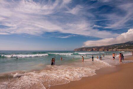 Guincho Beach in Cascais near Lisbon, Portugal