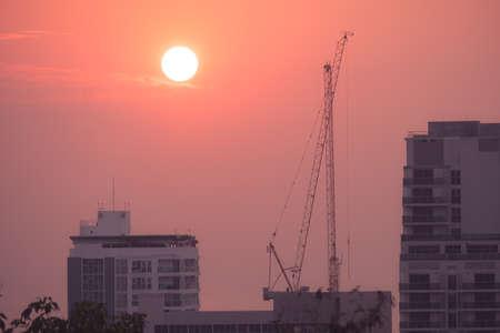 Sunset at Pattaya Thailand Stock fotó - 151152092