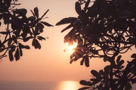 Sunset at Pattaya Thailand