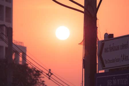 Sunset at Pattaya Thailand Stock fotó - 151152648