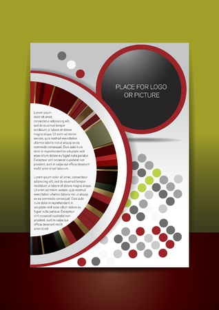 MEMO AND FLYER DESIGN Ilustrace