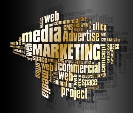 sales executive: Las palabras de Marketing