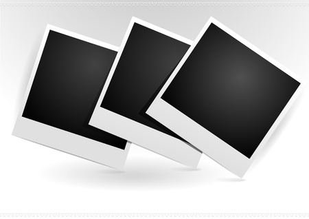 recollection: Photo frames Illustration
