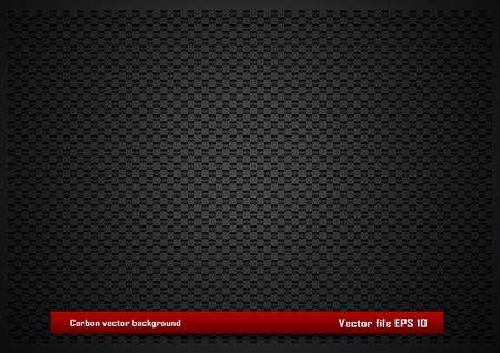 automotive industry: Carbon vector background Illustration