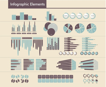 Detail infographic vector Vector