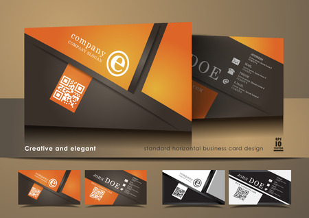 business card design: Creative and elegant business card design
