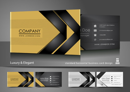 Creative and elegant business cards