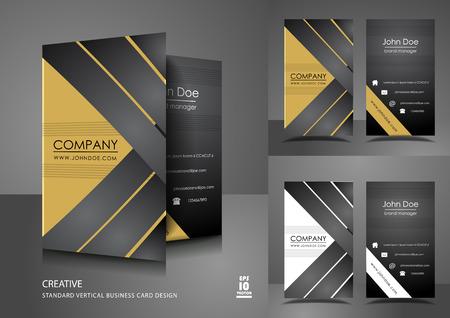 創造的なビジネス カードのデザイン  イラスト・ベクター素材