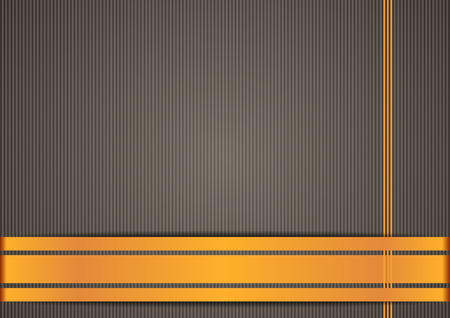 Brown background, orange stripes