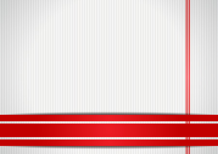 Background with red ribbons Illustration
