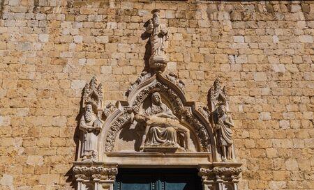 Dubrovnik, Croatia. Ancient sights in Dubrovnik September 2018