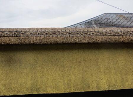 Thatched Roofs in England, State of Devon, Crediton Standard-Bild