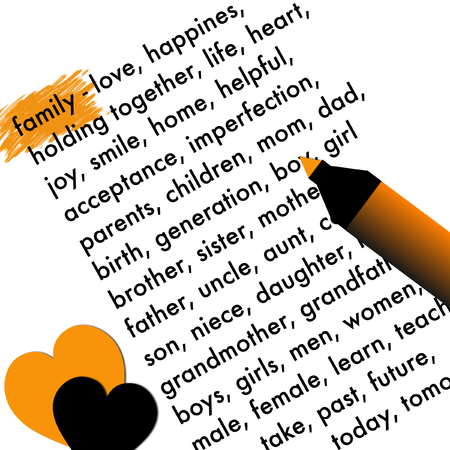cousin: Family word cloud