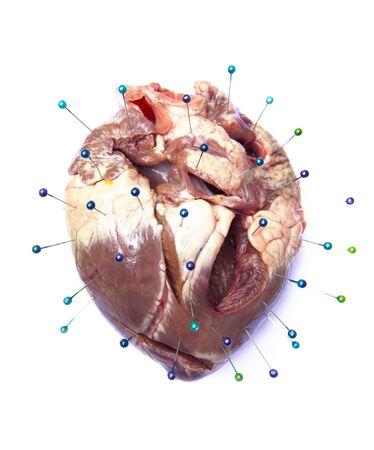 abandonment: displeasure heart muscle body organ
