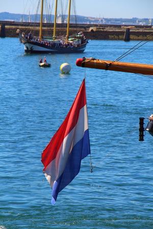 dutch: Dutch flag Stock Photo