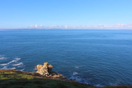 Coast in Brittany