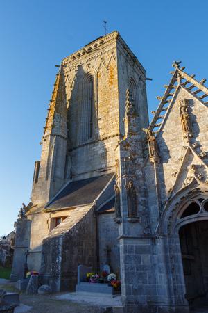 Outdoors of Saint Tugen chapel in Primelin