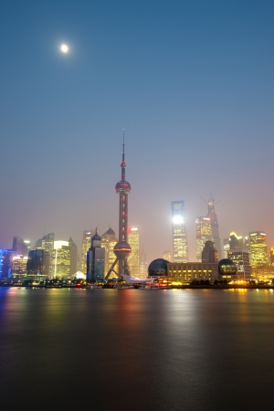 Shanghai at Huangpu River Stock Photo - 18703748