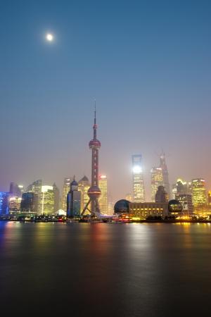 Shanghai at Huangpu River Stock Photo - 18703748