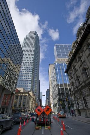 Toronto downtown buildings photo