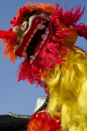Chinese Lion Dance Stock Photo - 18801801