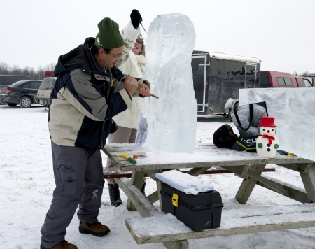 Ice Sculpting Sajtókép