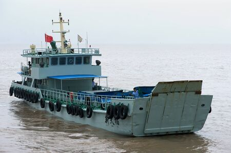 Landing craft Stock Photo